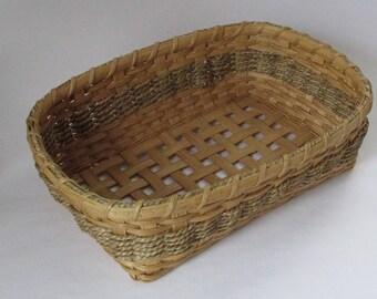 Handwoven Basket, Snack Basket, Table Basket