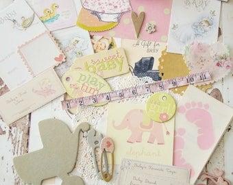 Baby Girl Mini Embellishment Kit