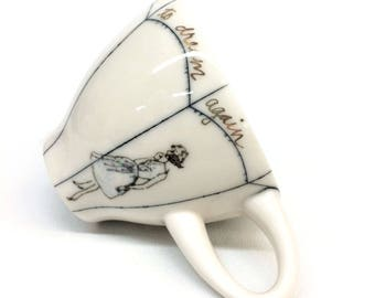 """I cried to dream again """"The Tempest"""" Teacup"""