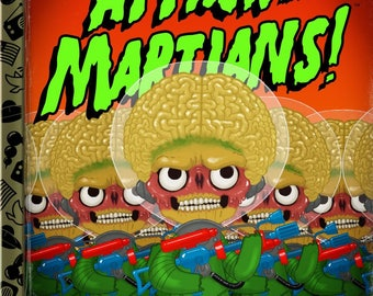 Attack of the Little Martians! 8x10 PRINT