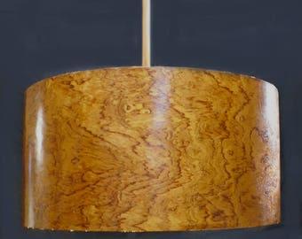 Custom drum pendant lights