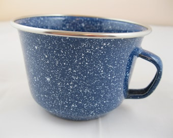 Tin spattered cup