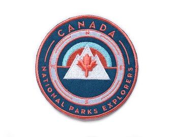 Canada Maple Leaf National Park Explorer's Patch
