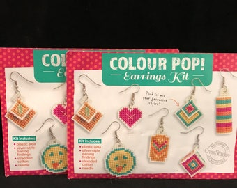 Colour Pop! 2 Complete Earrings Kits