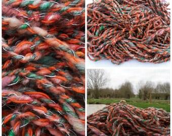 Champêtre: art yarn handspun