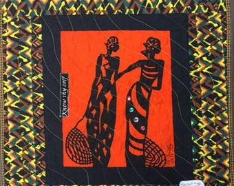 Festival Sale A Woman of Sophisticated Substance #12 art quilt