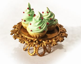 Festive Cupcakes - 1/12 scale