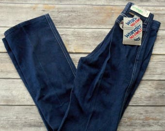 Deadstock Wrangler Jeans NWT Juniors Size 9 Straight Leg Womens Cowgirl Vintage Cowboy Country Western