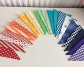 12ft rainbow bunting for Jennie