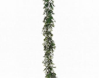 SUMMER WREATH SALE Artificial Boxwood Garland, Christmas Decor, Christmas Decoration,  Garland Supply  Free Shipping