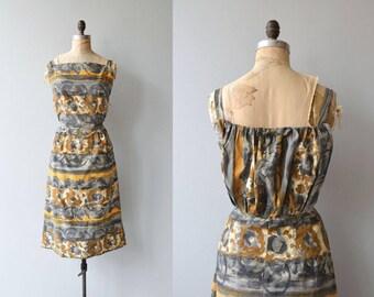 MCM dress | vintage 1950s dress | cotton 50s dress