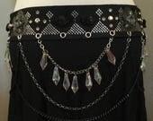 Assuit, Tribal Fusion, Tribal, ATS leather  belt