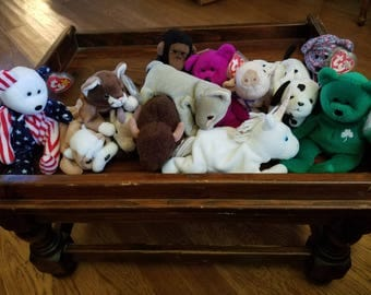 Lot of Classic Beanie Babies - 13