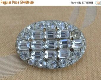 ON SALE Pretty Vintage Rhinestone, Faux Pearl Buttons, Silver tone, Gold tone, Supplies, Crafts, Destash (L5)