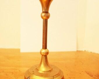 Vintage   Candles Holders Candleholder- solid brass Candlestick  - Holders Brass Decor Home Decor modern art