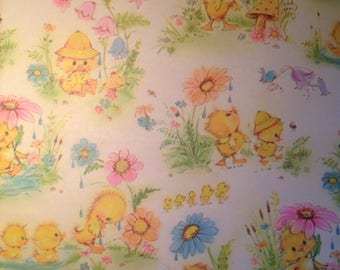 Yellow Ducky Baby Shower Gift Wrap by Norcross