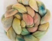 Hand dyed roving, hand dyed tops, Hand spinning, spinning wool, Fibre, Hand dyed Fiber, felting projects, spindling, felting materials, felt