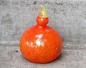 Orange Gooseneck Gourd, 7...