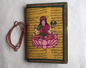 Finances Journal, Expenses Noting Journal, Blank Journal, Indian Laxmi Art, Daily Noting Journal, Money Affirmation, Luck Affirmation Diary