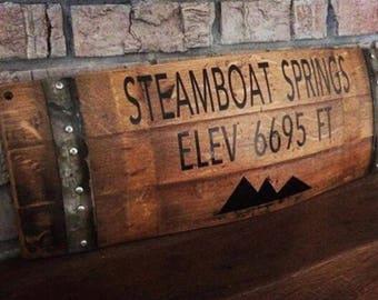 Wine Barrel Art - Steamboat Springs