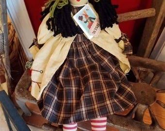 on sale primitive rare rag doll