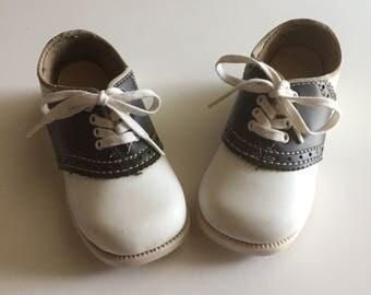 Vintage adorable toddler saddle shoes