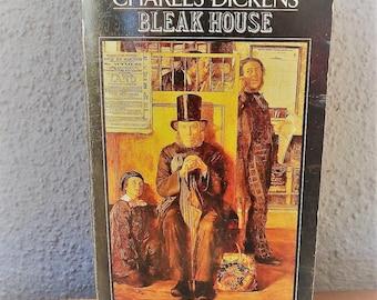 BLEAK HOUSE By Charles Dickens 1980 vintage paperback