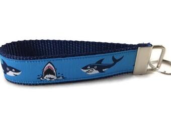 Shark Keychain, Key fob, Wristlet
