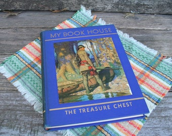 My Book House / The Treasure Chest / 1954 / Hardcover