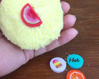 Hold on to Summer Bath Bombs. gifts for her. spa day. relax. spa products. birthday gift. Back to school. Teacher. bath fizzy. party favor.