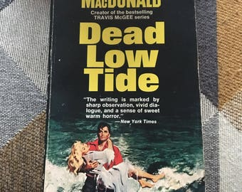Vintage Dead Low Tide John D MacDonald 1953 Novel