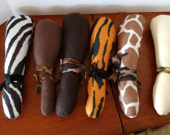Animal Clubs for Tarzan, Caveman, Bamm Bamm or Pebbles Flintstone Costume Accessory
