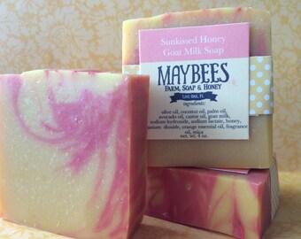 Sunkissed Honey Goat Milk Soap