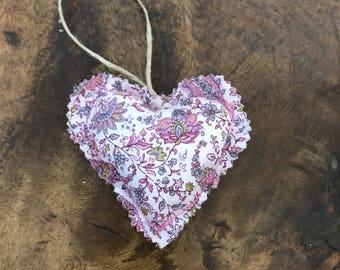 Fabric Heart Ornament