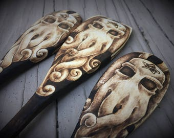 Cthulhu Spoon Set of 3 - Made to Order