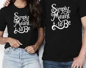 Simply Meant To Be - Nightmare Before Christmas - Unisex T-Shirt - Multiple Color Options