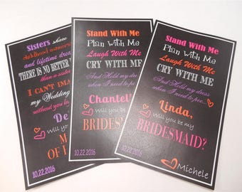 Will You Be My Bridesmaid - Wine Labels - Will you be my bridesmaid wine labels -Wine labels for wedding