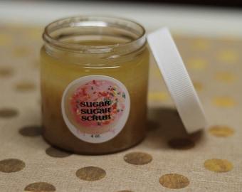 Vegan gift basket etsy vanilla lavender body polish sugar scrub limited time spring scent cruelty free negle Images