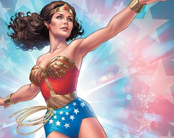 Custom Wonder Woman costume RESERVED for Jewel