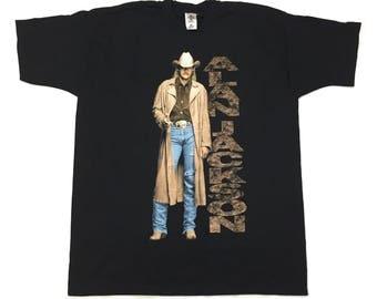 Alan Jackson 1997 finger gun t shirt