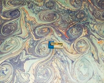 marbled paper,  cm 50 x 70   .carta marmorizzata,  -  919