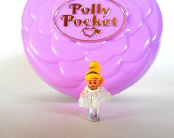 Vintage Polly Pocket Ballerina Polly Grand Ballet Playset by Bluebird 1993