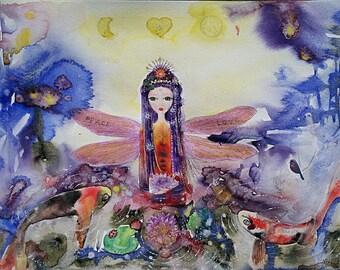 Fairy , original art