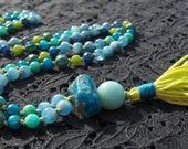 Turquoise Mala, Amazonite...