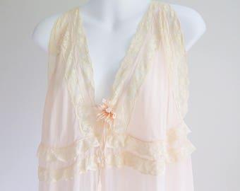 Tissue Silk Nightgown - size L - XL