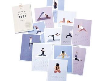 2018 Yoga Desk Calendar