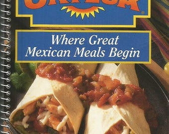 "Vintage Ortega ""Where Great Mexican Meals Begin"" Cookbook"
