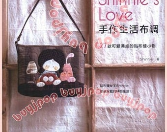 Chinese Ediiton Japanese Patchwork Craft Pattern Book Shinnie's Love Fairy Doll Patchwork BAG Quilt
