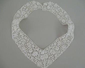 Beautiful Antique Vintage Trim Needlepoint Lace Trim Vintage Collar