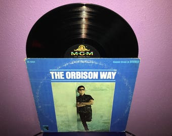 Vinyl Record Album Roy Orbison - The Orbison Way LP 1963 Pop Rock Vocals Classics